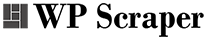 WP Scraper Logo